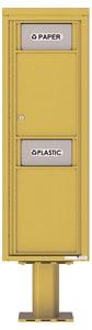 Florence 4C Pedestal 4C14S-BIN-P Gold Speck