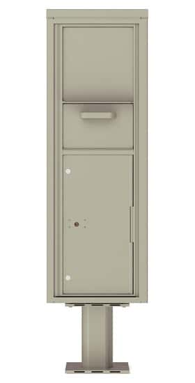 14 Door Units High 4C Pedestal Collection and Drop Box 4C14S-HOP-P