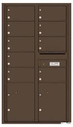Florence 4C Mailboxes 4C15D-09 Antique Bronze