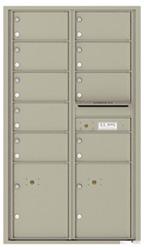 Florence 4C Mailboxes 4C15D-09 Postal Grey