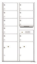 Florence 4C Mailboxes 4C15D-09 White