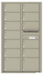 Florence 4C Mailboxes 4C15D-13 Postal Grey