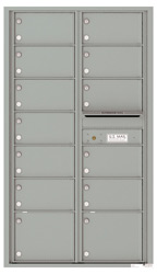 Florence 4C Mailboxes 4C15D-13 Silver Speck