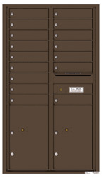 Florence 4C Mailboxes 4C15D-16 Antique Bronze