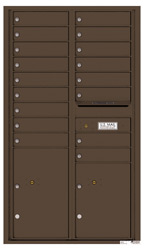 Florence 4C Mailboxes 4C15D-17 Antique Bronze