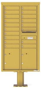 Florence 4C Pedestal 4C15D-18-P Gold Speck