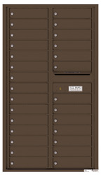 Florence 4C Mailboxes 4C15D-28 Antique Bronze