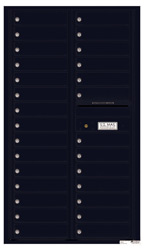 Florence 4C Mailboxes 4C15D-28 Black