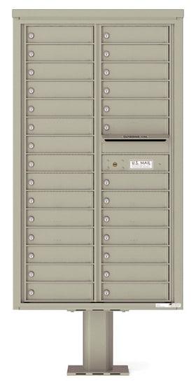 4C15D28-P Commercial 4C Pedestal Mailboxes