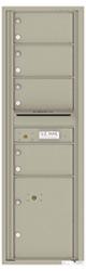Florence 4C Mailboxes 4C15S-04 Postal Grey
