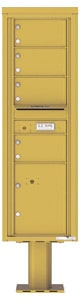 Florence 4C Pedestal 4C15S-04-P Gold Speck