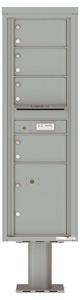 Florence 4C Pedestal 4C15S-04-P Silver Speck