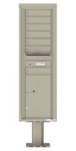 4C15S07-P Commercial 4C Pedestal Mailboxes