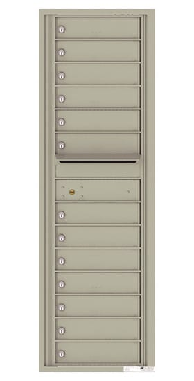 4C15S13 4C Horizontal Commercial Mailboxes