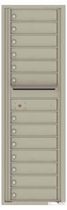 Florence 4C Mailboxes 4C15S-13 Postal Grey