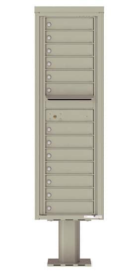 4C15S13-P Commercial 4C Pedestal Mailboxes