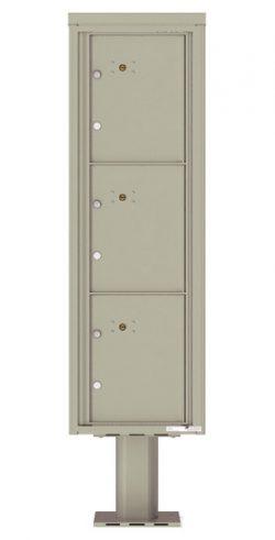 4C15S3P Parcel Lockers 4C Pedestal Mailboxes