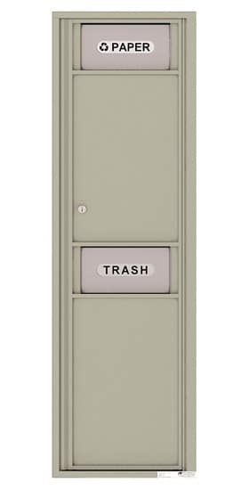4C Mailboxes 4C15S-Bin Trash and Recycling Bin Product Image