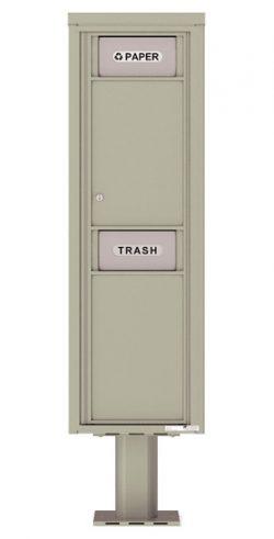 4C15SBIN 4C Pedestal Trash Recycling Bin