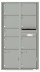 Florence 4C Mailboxes 4C16D-07 Silver Speck