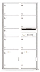 Florence 4C Mailboxes 4C16D-07 White