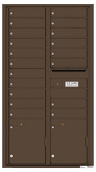 Florence 4C Mailboxes 4C16D-19 Antique Bronze