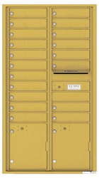 Florence 4C Mailboxes 4C16D-19 Gold Speck