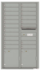 Florence 4C Mailboxes 4C16D-19 Silver Speck