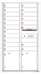 Florence 4C Mailboxes 4C16D-19 White