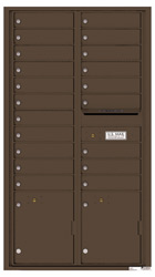 Florence 4C Mailboxes 4C16D-20 Antique Bronze