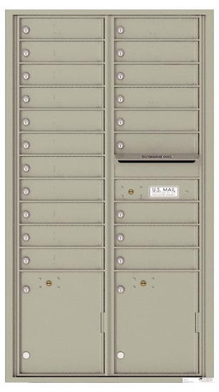 4C16D20 4C Horizontal Commercial Mailboxes