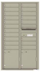 Florence 4C Mailboxes 4C16D-20 Postal Grey