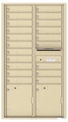 Florence 4C Mailboxes 4C16D-20 Sandstone