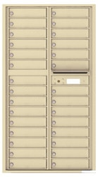 Florence 4C Mailboxes 4C16D-29 Sandstone