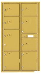Florence 4C Mailboxes 4C16D-8P Gold Speck