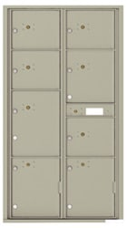 Florence 4C Mailboxes 4C16D-8P Postal Grey