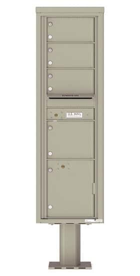 4C16S04-P Commercial 4C Pedestal Mailboxes
