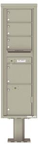 Florence 4C Pedestal 4C16S-04-P Postal Grey