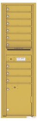 Florence 4C Mailboxes 4C16S-09 Gold Speck