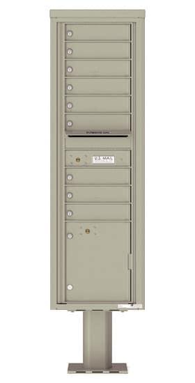 4C16S09-P Commercial 4C Pedestal Mailboxes