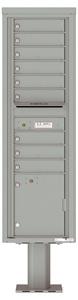 Florence 4C Pedestal 4C16S-09-P Silver Speck