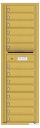 Florence 4C Mailboxes 4C16S-14 Gold Speck
