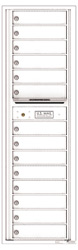 Florence 4C Mailboxes 4C16S-14 White