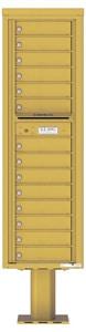 Florence 4C Pedestal 4C16S-14-P Gold Speck