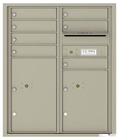 4CADD07 4C Horizontal Commercial Mailboxes