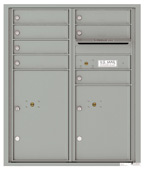 Florence 4C Mailboxes 4CADD-07 Silver Speck