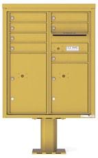 Florence 4C Pedestal 4CADD-07-P Gold Speck