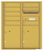 Florence 4C Mailboxes 4CADD-08 Gold Speck