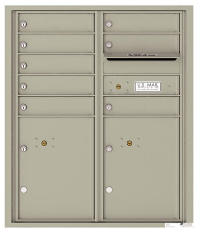 4CADD08 4C Horizontal Commercial Mailboxes