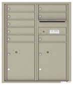 Florence 4C Mailboxes 4CADD-08 Postal Grey